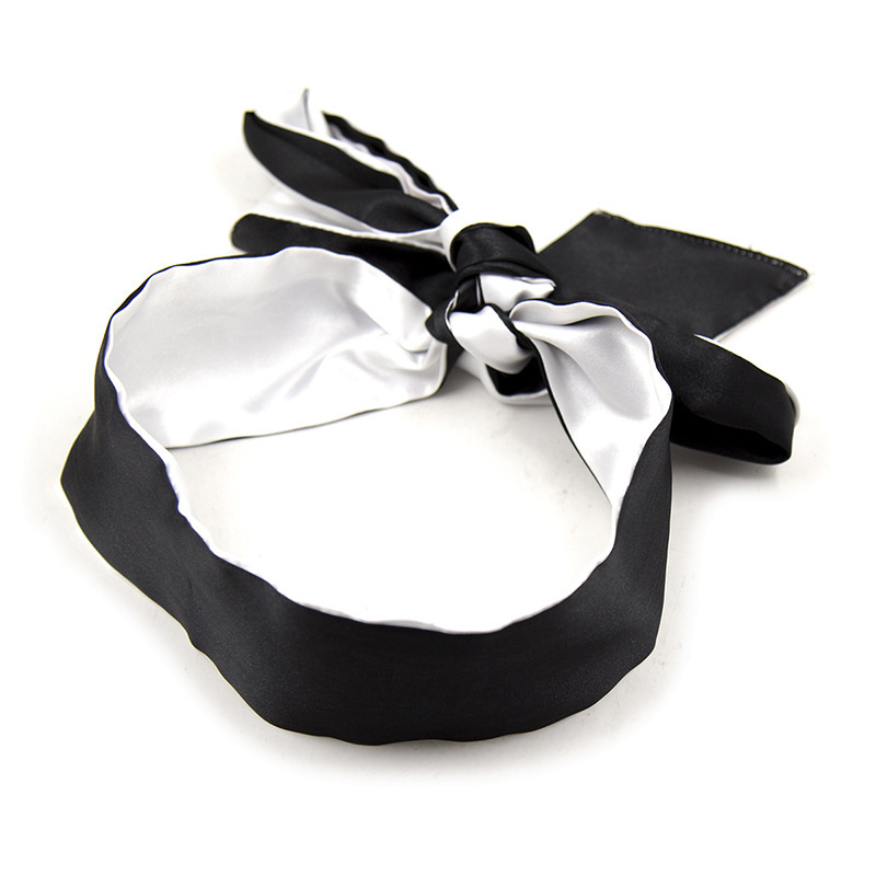 Sexy Eye Mask Porn Masque For Sex Toys Sexy Satin Black Blindfolded Patch Fetish For Sex Game Erotic Costumes