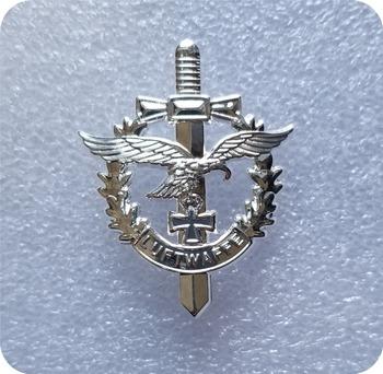 UNC ww2 niemieckie siły powietrzne luftwaffe przypinka UNC tanie i dobre opinie DASHUMIAOCOIN CN (pochodzenie) Ludzi Antique sztuczna CHINA Miedzi