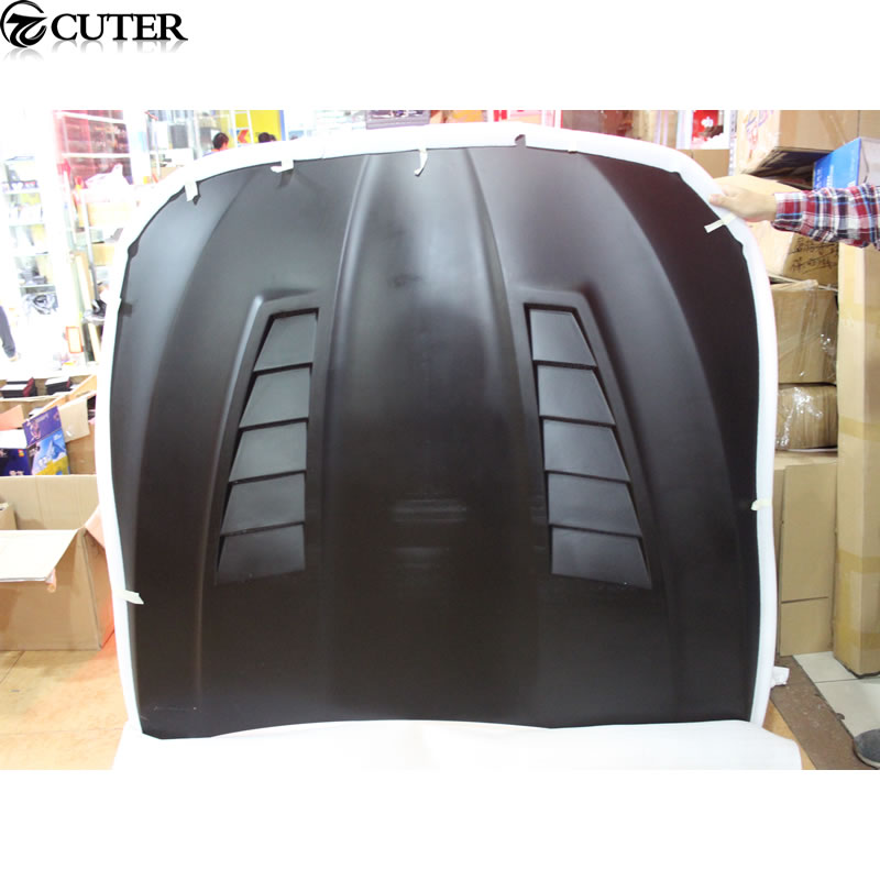 F10 F18 M5 style Fiberglass Front Engine Hood Cover for BMW 5 series F10 M5 5 series engine bonnet 11 15