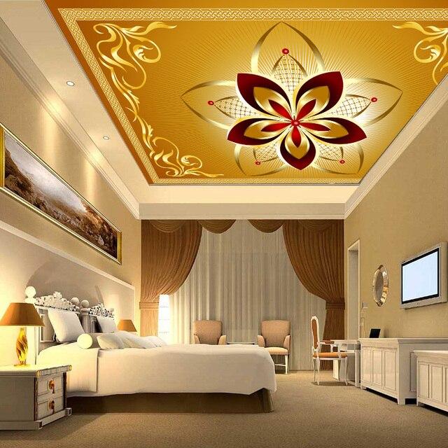 Promo Benutzerdefinierte 3D Continental abgehängte decke wallpaper ...