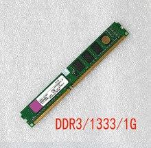Presque nouveau DDR3 1 gb 1333 MHz PC10600 240-pin de bureau Mémoire RAM 1G double canal compatible avec INTEL et AMD