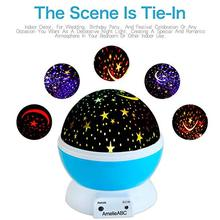 Night Light Glow Balls toys for children oyuncak Luminous children's projector light up led Star glow in the dark