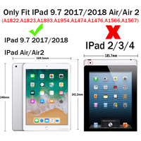 leather flip For Apple Ipad Air Air 2 Cases High quality PU Leather Flip Stand Feather Pattern Case For iPad Air 2 9.7 Inch Cover Funda Shell (2)