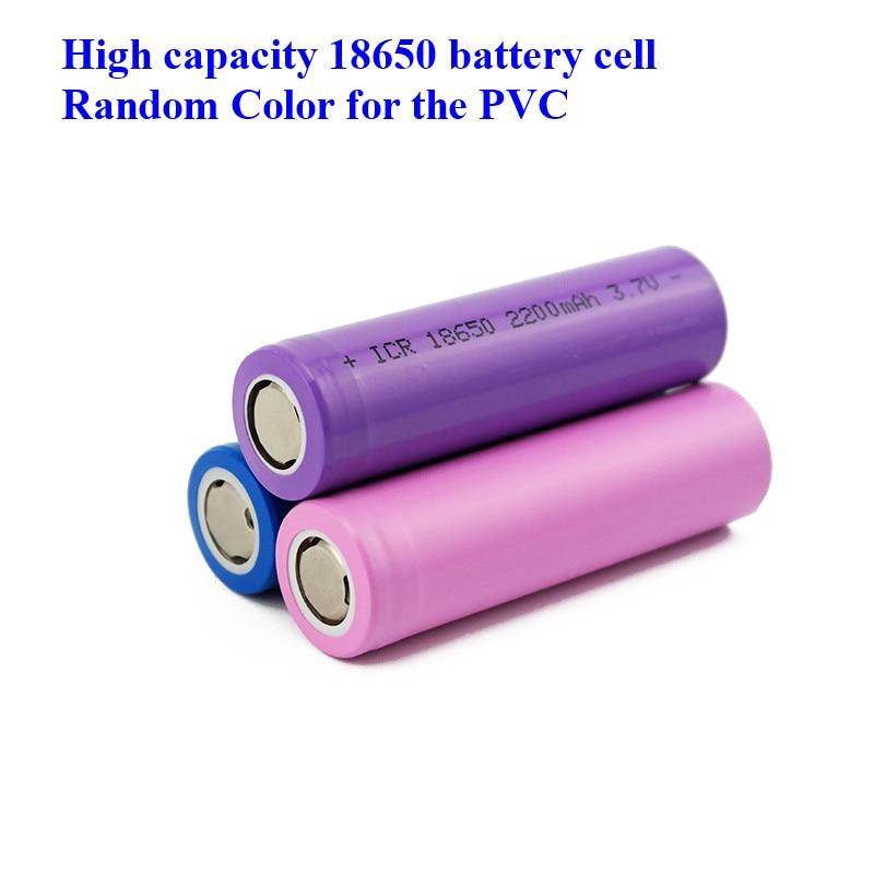 40pcs Chinese factory hot selling high capacity battery 18650 3.7V Li-ion Rechargebale 1200mah 1500mah 1800mah  2000mah