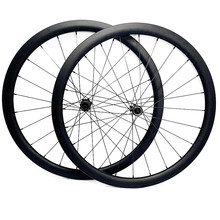 700c road disc wielen 50x27mm tubeless Schijfrem racefiets wielen NOVATEC 100x12mm 142x 12mm Center lock road carbon disc wiel