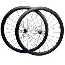 Roues à disque de route 700c 50x27mm tubeless frein à disque roues de vélo de route NOVATEC 100x12mm 142x12mm roue à disque de carbone de route à verrouillage central