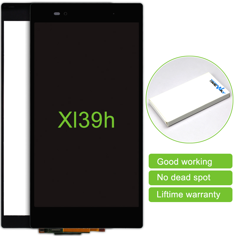 ФОТО Top Fashion 2pcs Mobile Phone For Sony Xperia Z Ultra C6802 C6805 Xl39h Lcd Display Touch Screen Digitizer Assemly Freeshipping