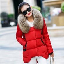 Women's Winter Coat Nagymaros Collar Hooded Women Down Winter Jacket Asymmetric Length Loose Cotton Padded Jacket TT262