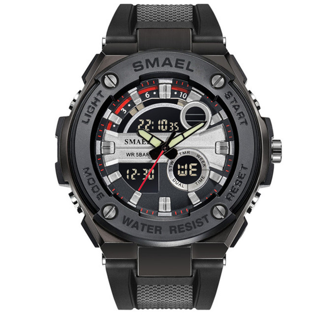 4415c9dfc51f SMAEL relojes para hombre 2018 superior de la marca de lujo de Shock S deporte  reloj hombres ejército militar muñeca impermeable reloj Relogio Masculino