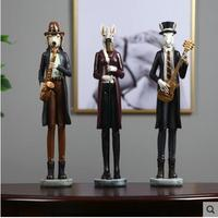 Music character sculpture model decoration crafts, home desk decoration, wedding gifts