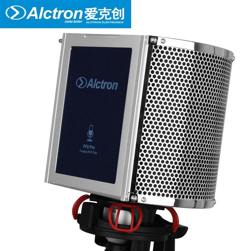 Alctron PF8PRO Professional Simple Studio Mic Screen Acoustic Filter New Arrive Desktop Recording Wind Screen|screen|screen filter|screen desktop - title=