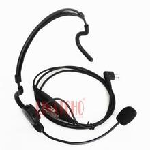 professional neckband microphone walkie talkie military headset for GP308 GP350 GP2000