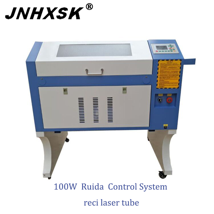 100w W2 Reci Laser Engraving Machine 4060 Ruida System 400*600mm Up And Down Honeycomb Diy Cnc For Acrylic Wood, Glass, Etc.