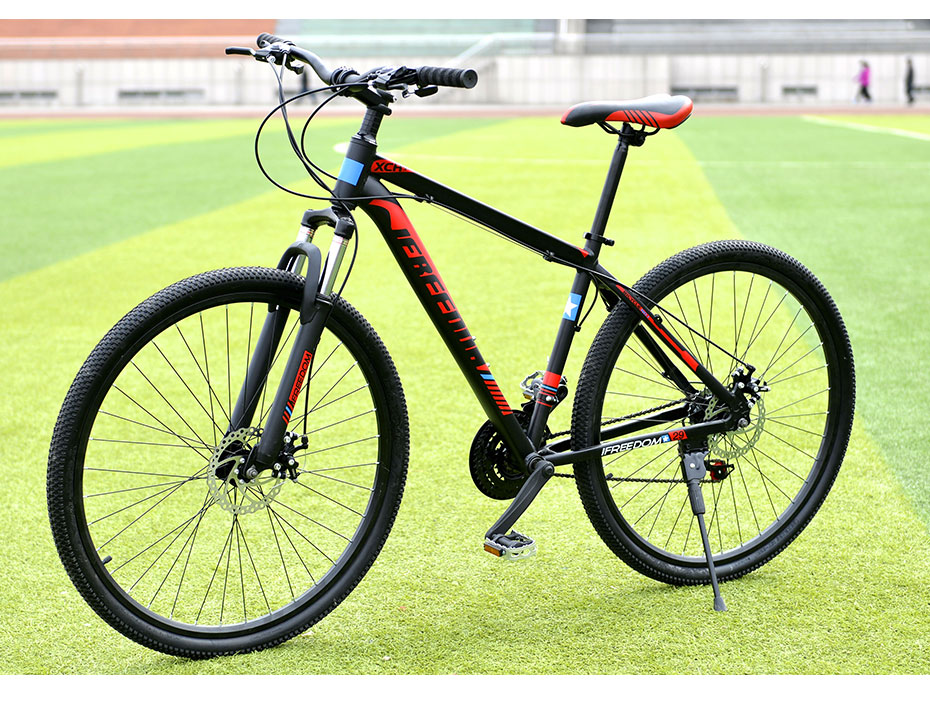 HTB1oraOtb1YBuNjSszhq6AUsFXaj Love Freedom 21/24 Speed Aluminum Alloy Bicycle  29 Inch Mountain Bike Variable Speed Dual Disc Brakes Bike Free Deliver