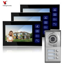 Yobang Security 7″Hot Sale Apartment Building Video Door Phone Building Conversational System Villa Entry Video Intercom System