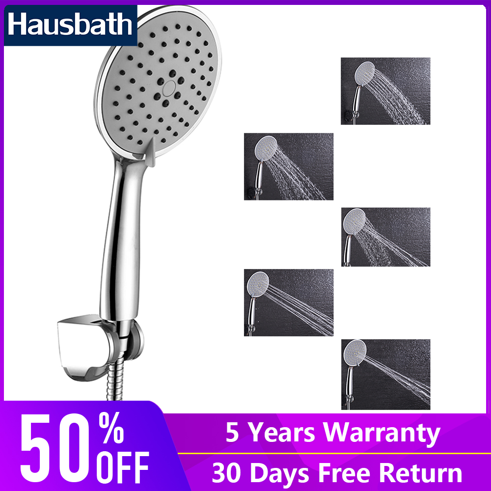 Hand Shower Head Set Rainfall Bath With Holder Hose Rainfall Chrome Finished Bathroom Shower Head Water Booster Sprinkler цена 2017
