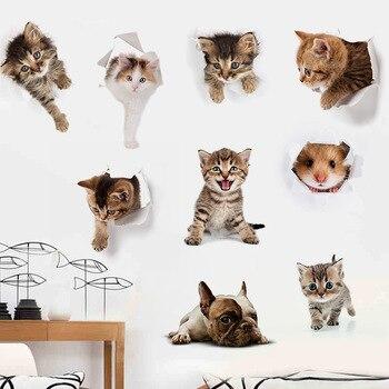 Schattige dieren stickers 5