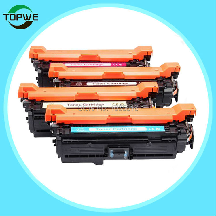CE250A CE251A CE252A CE253A Toner cartridge for hp Color laserJet CP3525 CP3525N CP3525DN CP3525X CM3530 CM3530TS