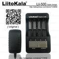 Liitokala Lii-500 LCD 3.7 V 18650 18350 18500 16340 17500 25500 10440 14500 26650 1.2 V de lítio AA AAA NiMH Carregador de bateria
