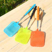 Quality Stainless Steel Retractable Fly Swatter Prevent Pest Mosquito Fly Killer Anti Mosquito Pest Reject Insect Killer Tool