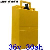 36 V 30AH 36 36 V 30AH bateria De Lítio Bicicleta Elétrica Da Bateria 500 V 1000 W Scooter Bateria com BMS e Carregador 42 V 5A 30A