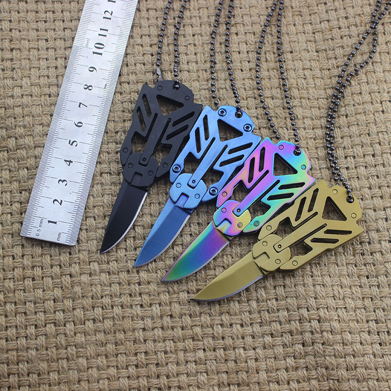 Stainless Steel Outdoor Transformer Folding Knife Survival Safety Tool Self-defense Knives Multifunction Tactical Utility Tool
