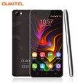 Original oukitel c5 pro 5.0 pulgadas smartphone android 6.0 mtk6737 Quad Core Teléfono Móvil 2 GB/16 GB 4G LTE Celular Marco de Metal teléfono