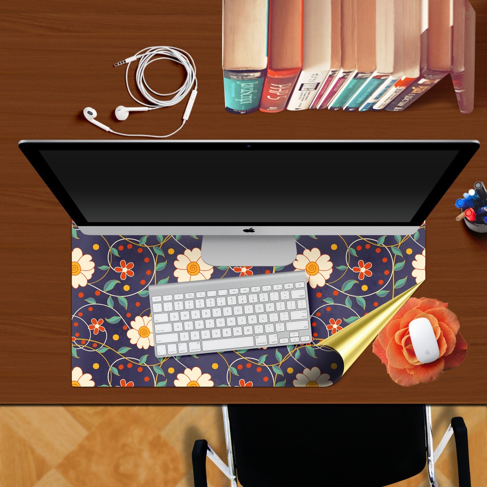 office desk table tops. home office decoration 3d study desk table top stickers wall decor decals kids dorm room adesivo vinilo pegatinas mousepad z 029-in from tops w