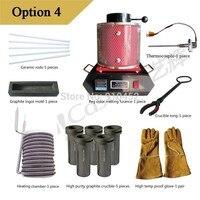 3 кг переносной печи Yihui Кастинг Марка Электрический тигельные орно плавки оборудования, может расплавить золотую меди серебра option4