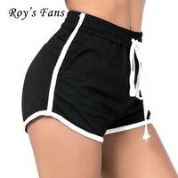 Roy S Fans High Waist Shorts Women Sexy Drawstring Beach Summer Shorts Loose Elastic Waist Streetwear