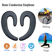 Bone Conduction Earphone Bluetooth Earbuds Wireless Headphone Hands free Cordless Headphones Stereo Sport for Smartphon