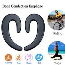 Bone Conduction Earphone Bluetooth Earbuds Wireless Headphone Hands free Cordless Headphones Stereo Sport Earphone for Smartphon цена