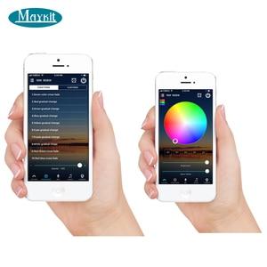 Image 3 - Maykit 45 ワット 60 ワット 75 ワット無線 Lan 制御スマートフォン app RGB RGBW Led の光ファイバ光プロジェクター発生器