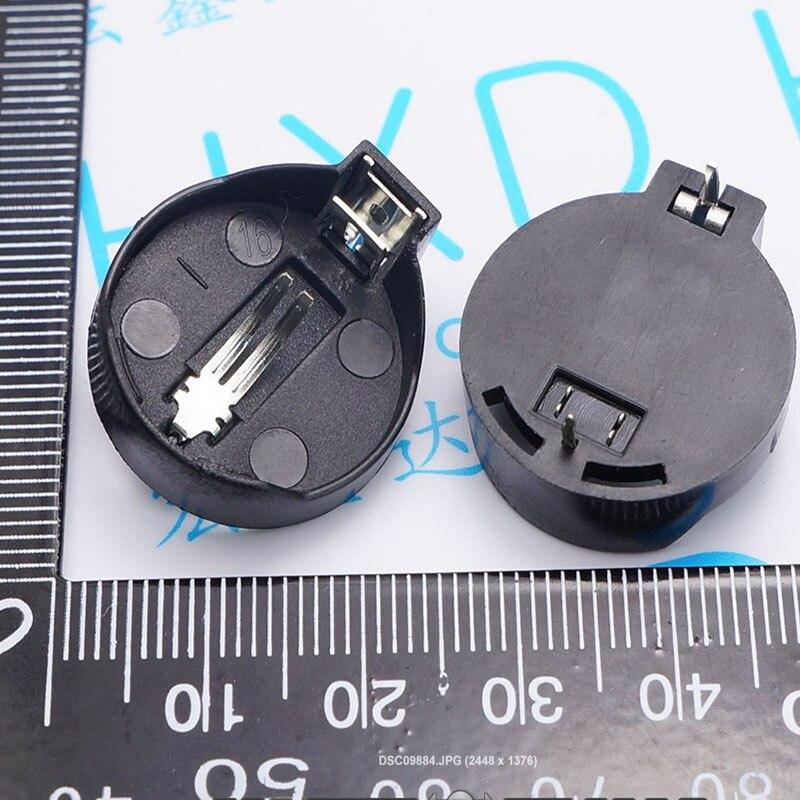 CR2025 CR2032 support de batterie bouton connecteur de batterie ordinateur carte mère support de batterie