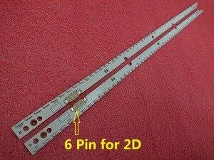 Image 3 - Neue 2 teile/satz 60LED 572mm led hintergrundbeleuchtung streifen für Samsung UE46ES5500 SCHLITTEN 2012SVS46 7032NNB RIGHT60 LEFT60 2D