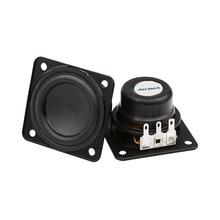 AIYIMA 2 個 1.75 インチ 6 ワットのミニポータブル Bluetooth スピーカー 45 ミリメートル 4ohm フルレンジ大ストロークため Harman kardon 社スピーカーユニット DIY