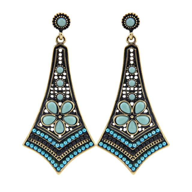 Melvina-Vintage-Multicolor-Earrings