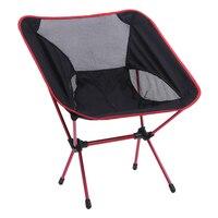 1 pcs Léger Pliant Chaise De Pêche Portable Camping Tabouret Siège Pliable Chaises Siège Pour La Pêche Pesca Pique-Nique Beach Party BBQ
