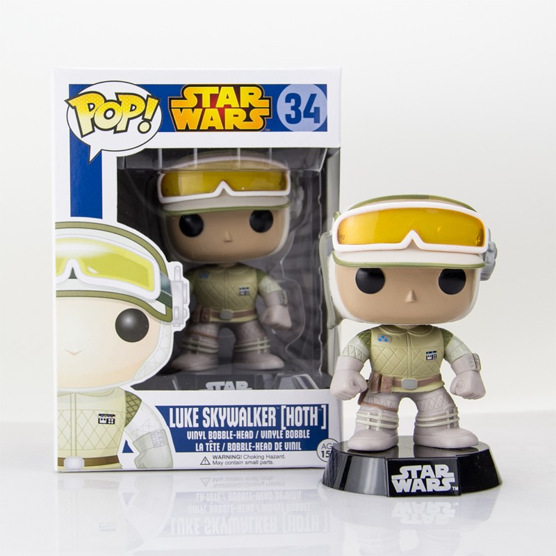 Star Wars Luke Skywalker Hoth Pop Vinyl Figure 34