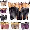 Hot Sale Professional 20pcs Makeup Brushes Set Powder Foundation Eyeshadow Eye Lip Cosmetic Makeup Brushes Maquiagem GUB#