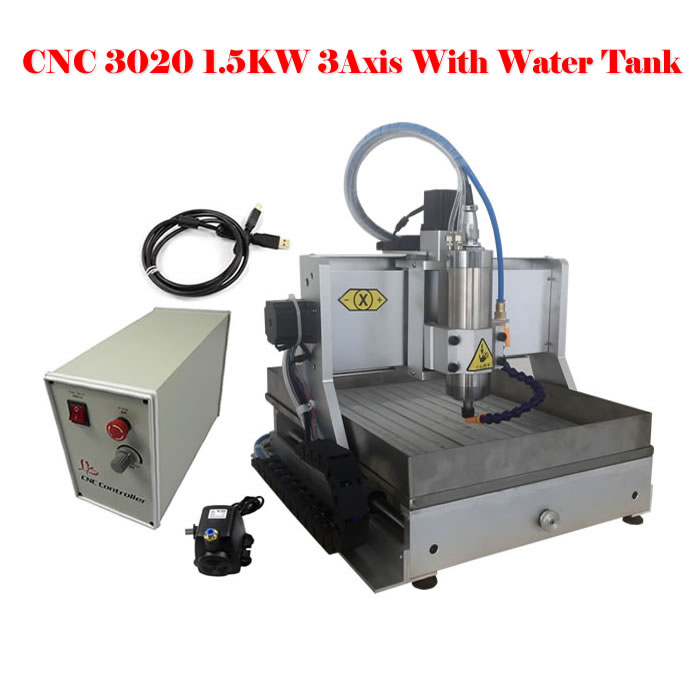 LY CNC3020Z-VFD1.5KW USB 3axis cnc router engraving machine, free tax to Russia 3axis mini cnc router ly cnc3020z vfd1 5kw engraving machine with sink cnc cutting machine