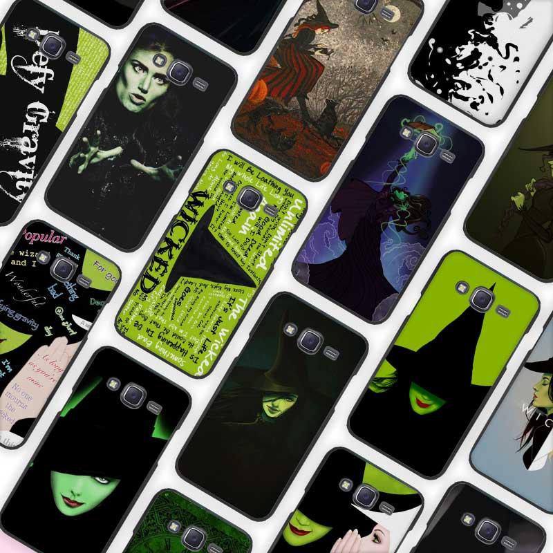 Φ_ΦBroadway musical wicked letras negro Funda Conchas protector para ...