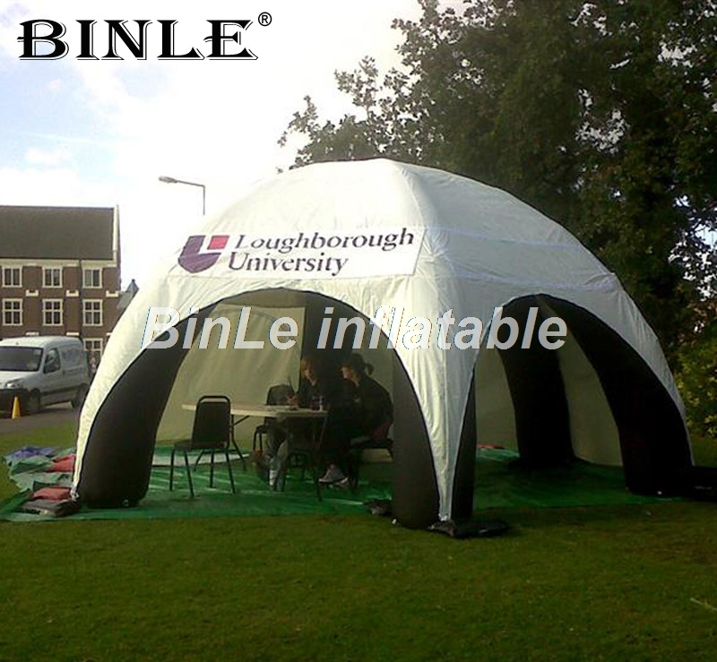 Hot sale waterproof full cover inflatable spider tent with removeable walls event station dome canopy marquee with air blower t053 free shipping by dhl giant large party event bubble camping air dome price camp inflatable houes tent with blower for sale page 2