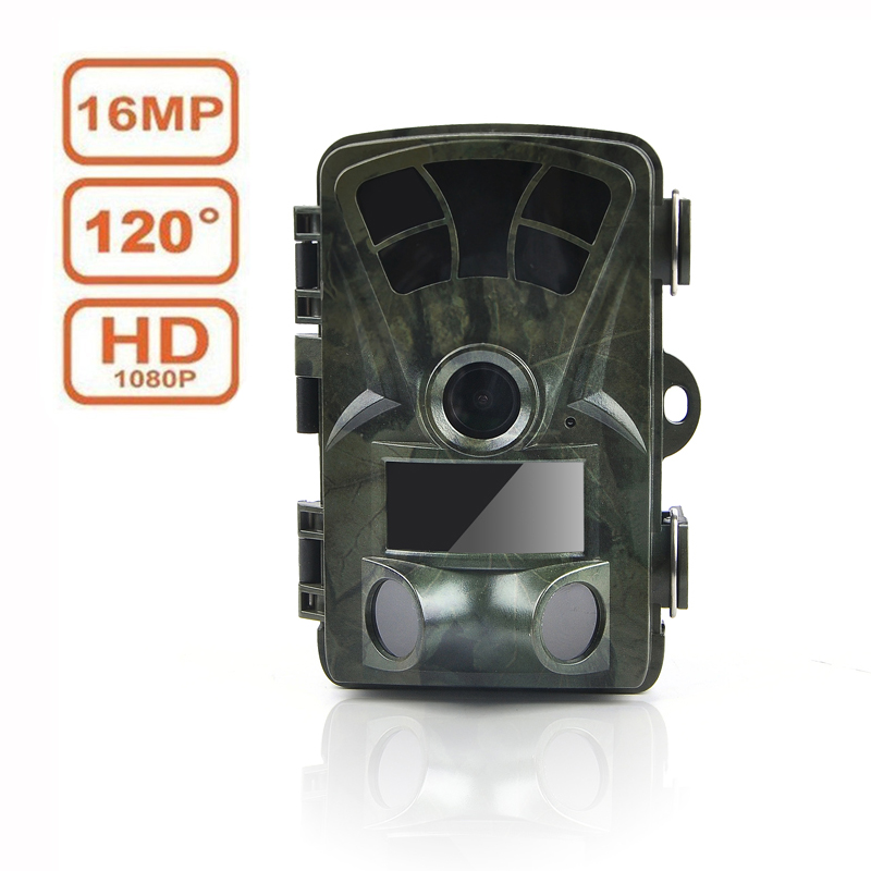 Hunting Camera 16MP 1080P Wildlife Scouting Hunting Trail Camera IR Night Vision 65ft/20m IP56 Waterproof Wide Angle Camera
