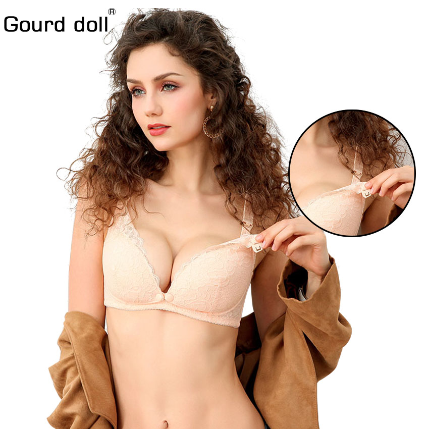 Maternity & Nursing Bras Gourd Doll Breastfeeding Lace Maternity Nursing Bras Cotton Sleep Bra For Pregnant Women Pregnancy Mom Breast Feeding Clothing Mother & Kids
