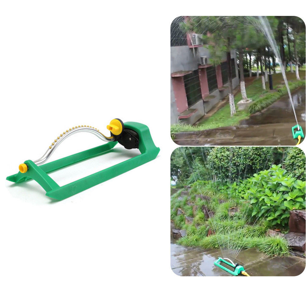 Irrigation And Irrigation Oscillating Lawn Sprinkler Watering Garden Pipe Hose Water Flow With Connector Water Sprinkler