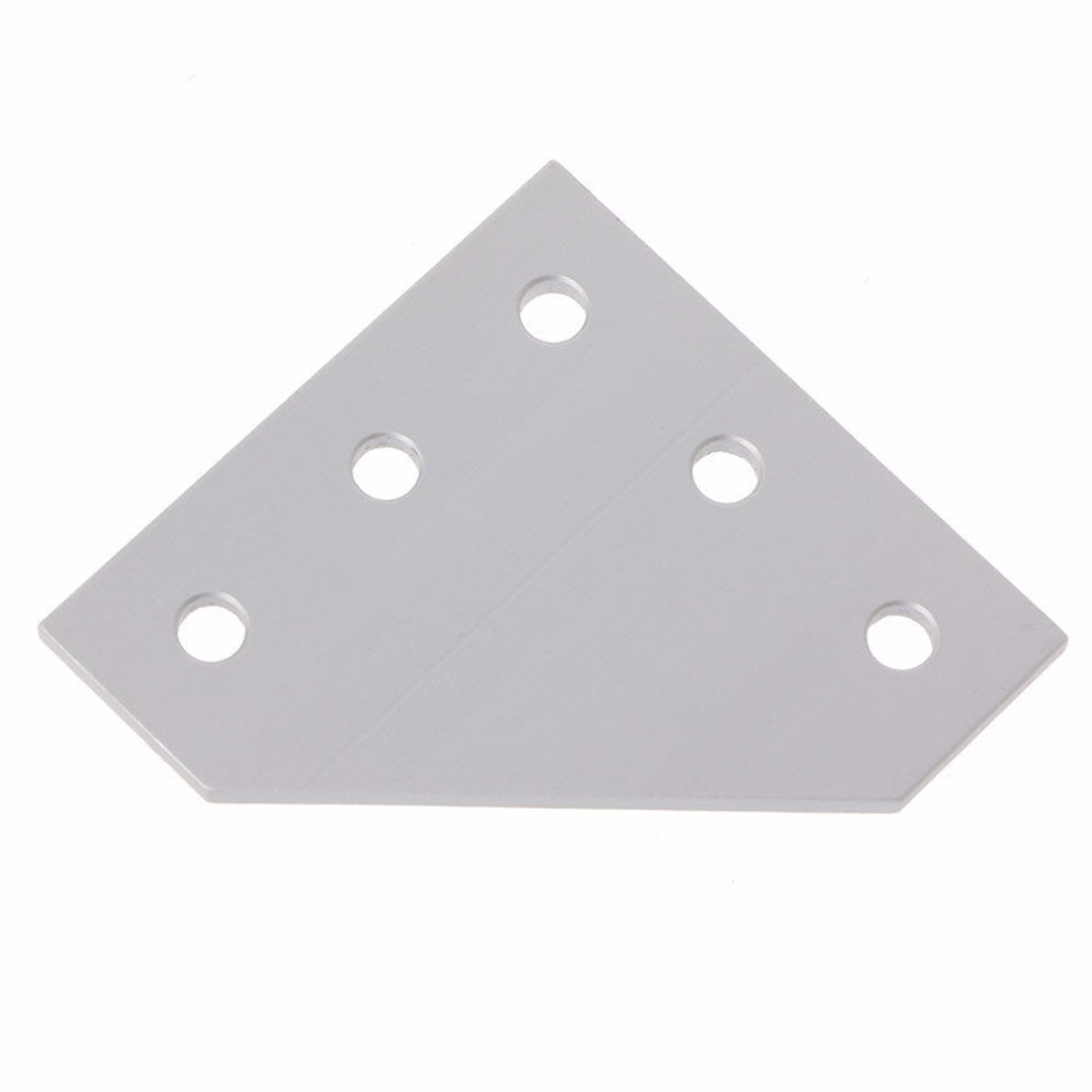 1pc 5 Hole 90 Degree Joint Board Corner Angle Bracket Corner Bracket Plate For 2020 Aluminum Profile 3D Printer Frame