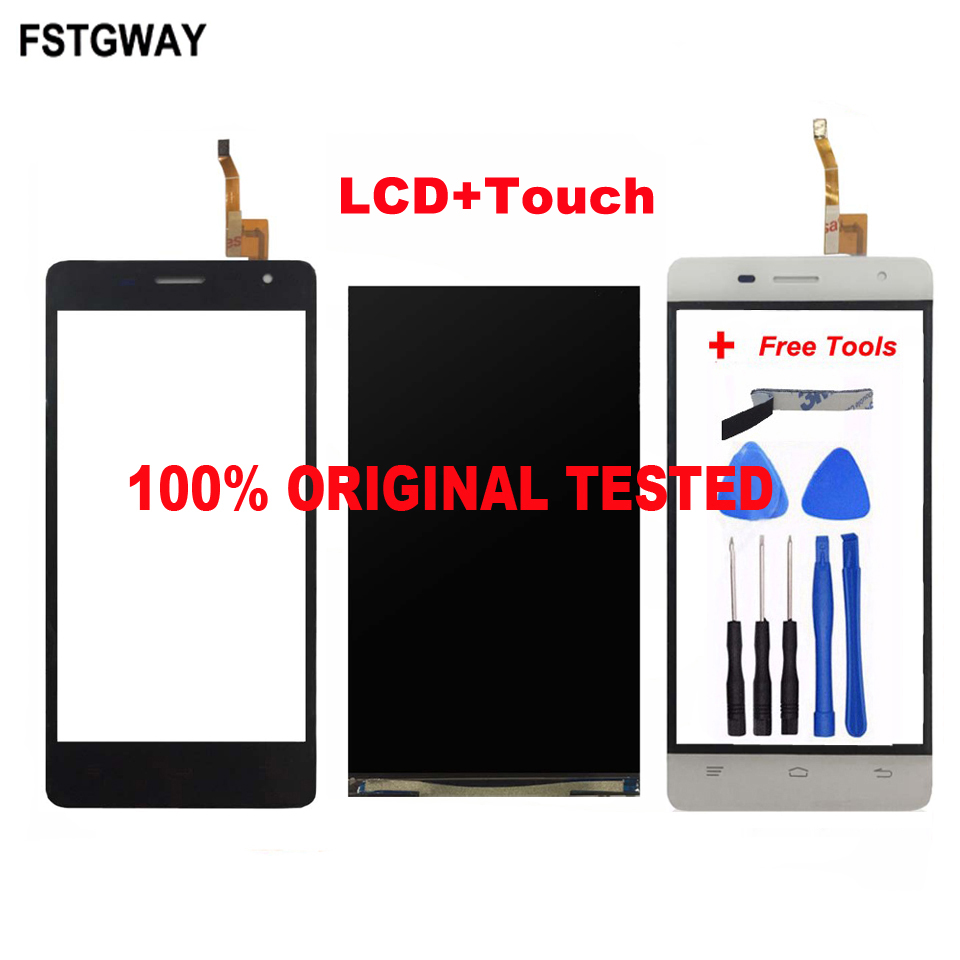 FSTGWAY For Oukitel K4000 Pro LCD Display+Touch Screen 100% Tested LCD+Digitizer Glass Panel Replacement+Free Tool