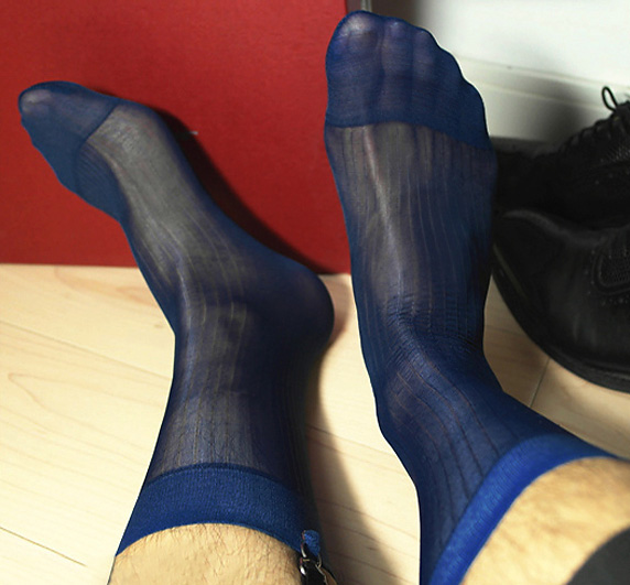 hot gay sex black dress socks