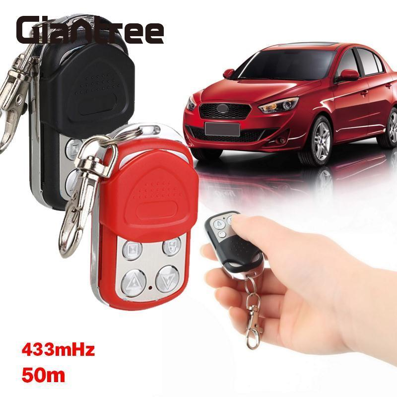 giantree Universal 433MHz Garage Door Remote Control Waterproof Remote Control Garage Gate Key Fob Cloner Access Control Keypad
